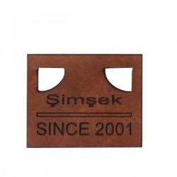 81073 Deri Etiket Modeli